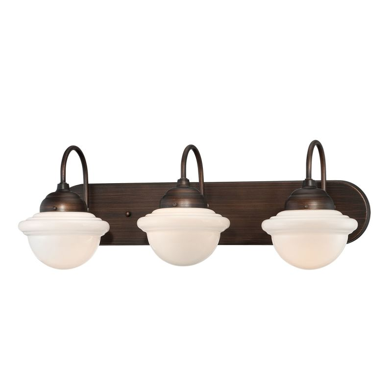 Millennium Lighting 5413 Neo-Industrial 3 Light Bathroom Vanity Light Sale $129.90 ITEM: bci2353850 ID#:5413-RBZ UPC: 842639013101 :