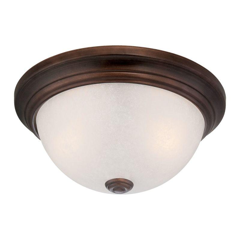 Millennium Lighting 5431 2 Light Flush Mount Ceiling Fixture Rubbed