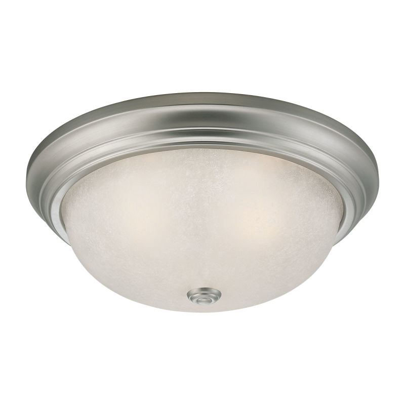 Millennium Lighting 5433 2 Light Flush Mount Ceiling Fixture Satin