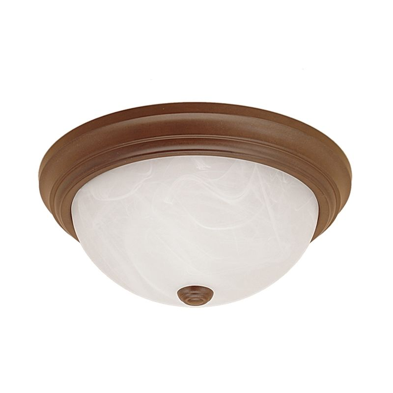 Millennium Lighting 563 2 Light Flush Mount Ceiling Fixture Bronze