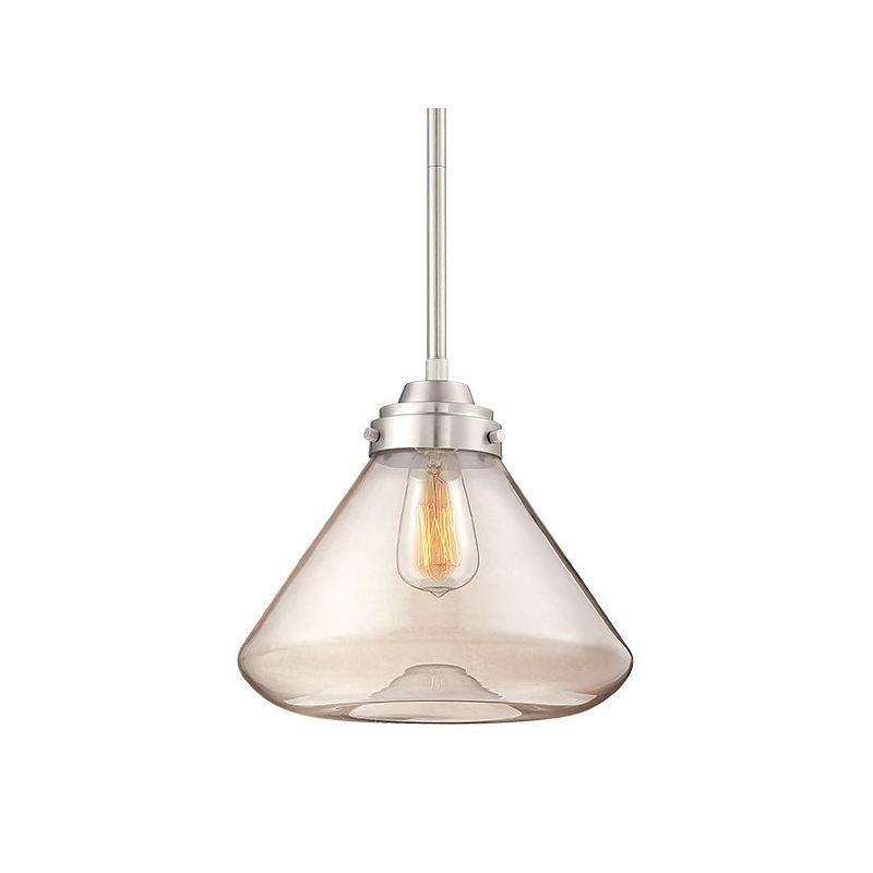Millennium Lighting 5701 1 Light Full Sized Pendant Brushed Nickel