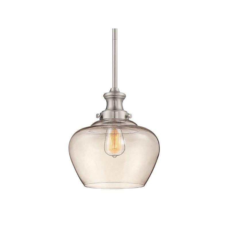 Millennium Lighting 5711 1 Light Full Sized Pendant Brushed Nickel