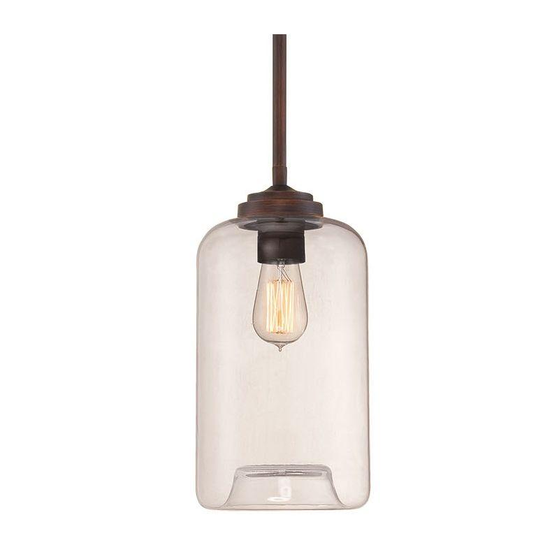 Millennium Lighting 5721 Neo-Industrial 1 Light Mini Pendant Rubbed