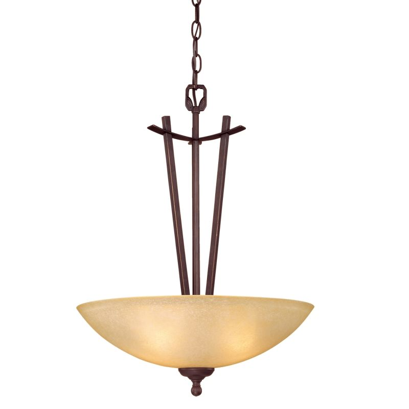 Millennium Lighting 6513 Racine 3 Light Pendant Rubbed Bronze Indoor