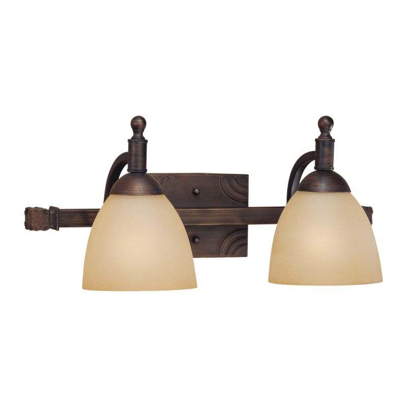Millennium Lighting 6532 Racine 2 Light Bathroom Vanity Light Rubbed