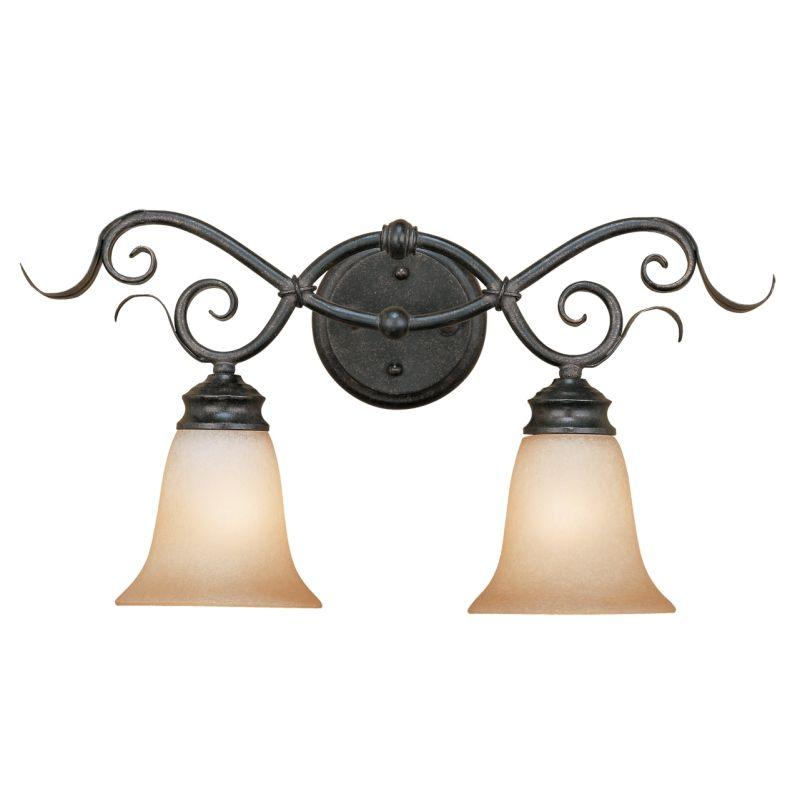 Millennium Lighting 7052 Roanoke 2 Light Bathroom Vanity Light