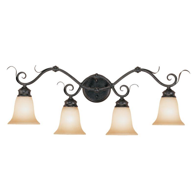 Millennium Lighting 7054 Roanoke 4 Light Bathroom Vanity Light