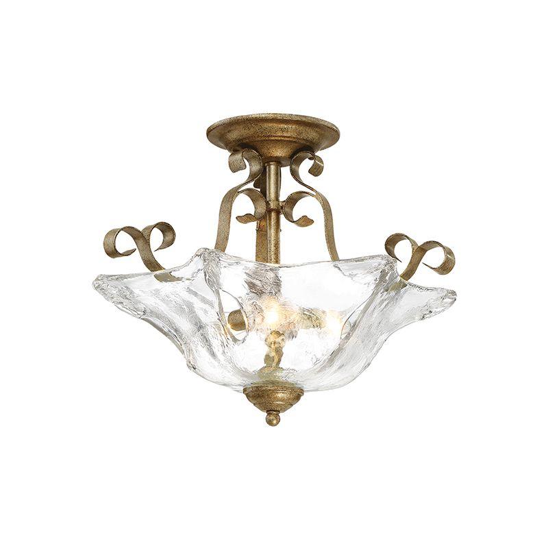 "Millennium Lighting 7433 Chatsworth 3 Light 18"" Wide Semi-Flush Mount Sale $189.90 ITEM: bci2870473 ID#:7433-VG UPC: 842639017659 :"