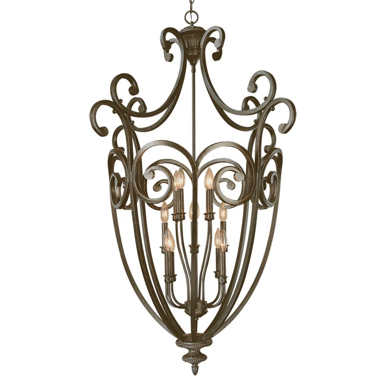 Millennium Lighting 7812 Iron Gate 12 Light Pendant Burnished Gold Sale $559.90 ITEM: bci2231671 ID#:7812-BG UPC: 842639003645 :