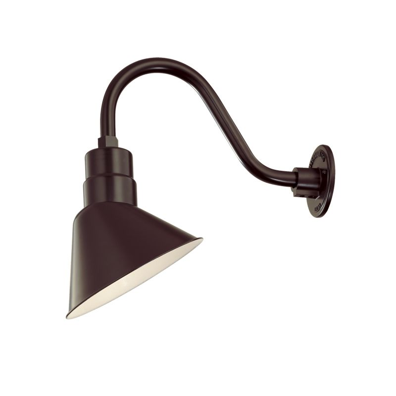 Millennium Lighting RAS10-RGN15 R Series 1 Light Outdoor Wall Sconce