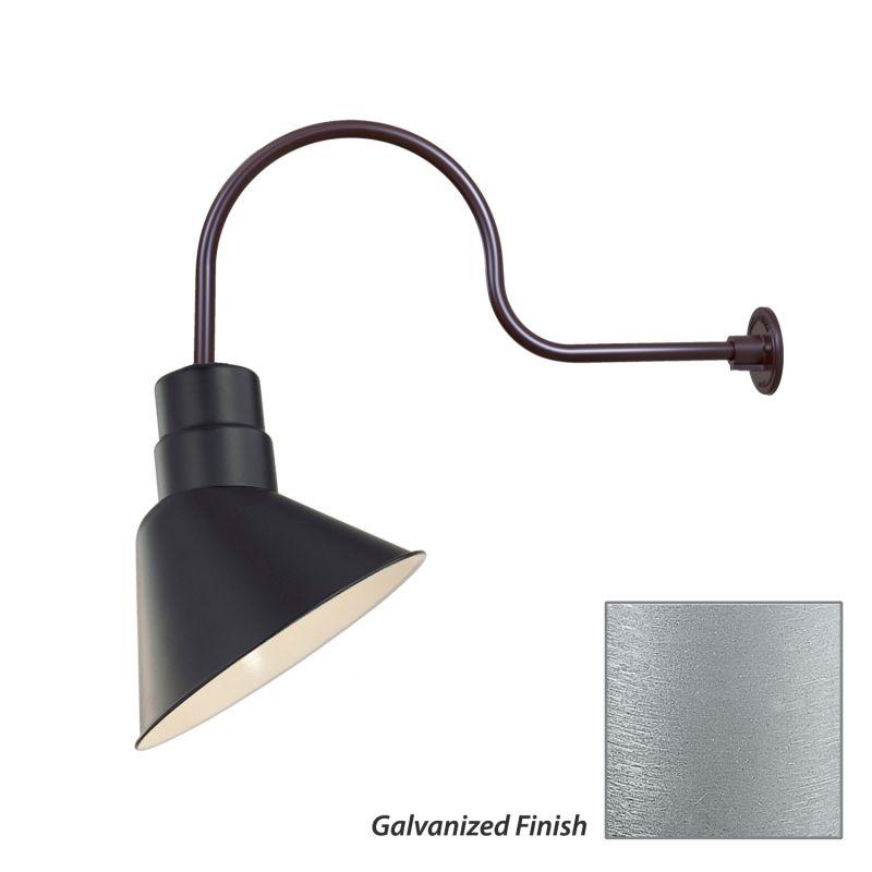 Millennium Lighting RAS10-RGN30 R Series 1 Light Outdoor Wall Sconce