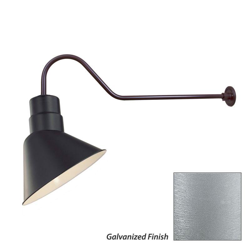Millennium Lighting RAS10-RGN41 R Series 1 Light Outdoor Wall Sconce