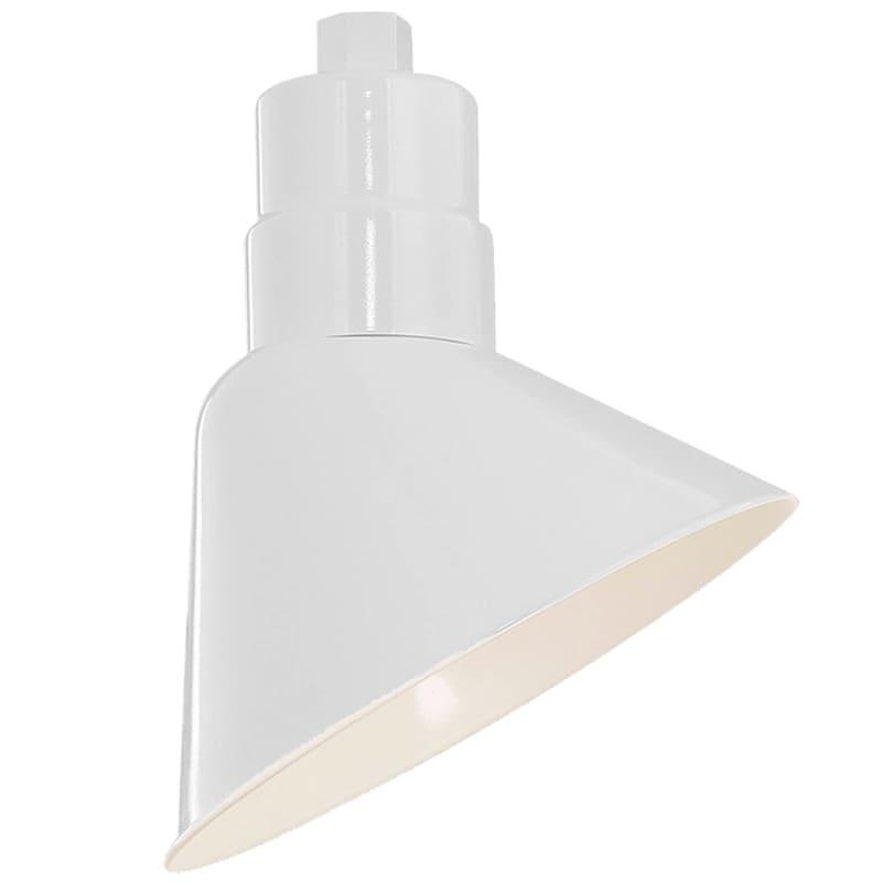 "Millennium Lighting RAS10 R Series 10"" Wide Outdoor Angle Shade White"