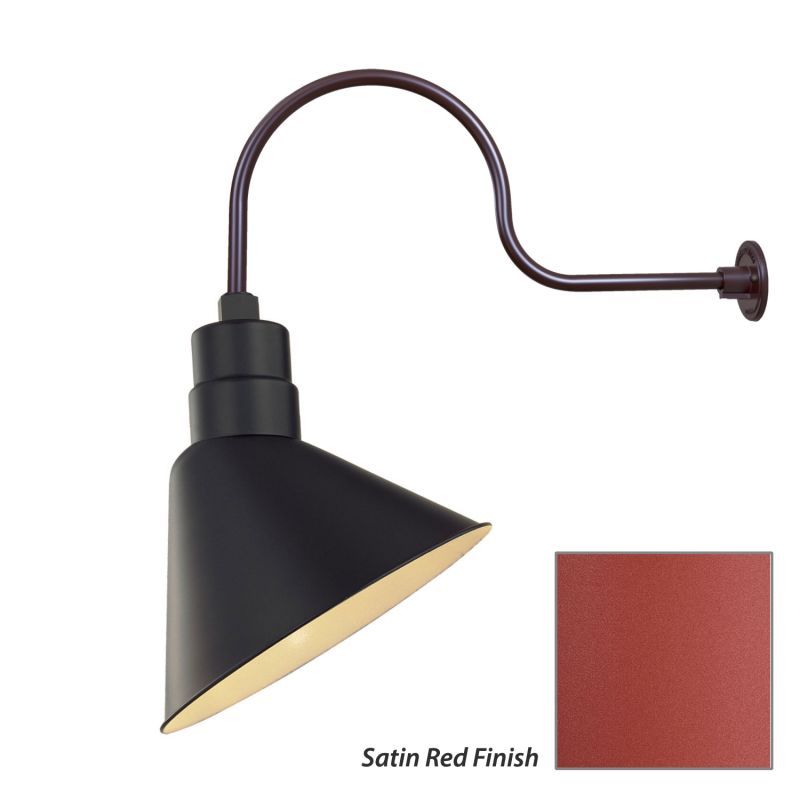 Millennium Lighting RAS12-RGN30 R Series 1 Light Outdoor Wall Sconce