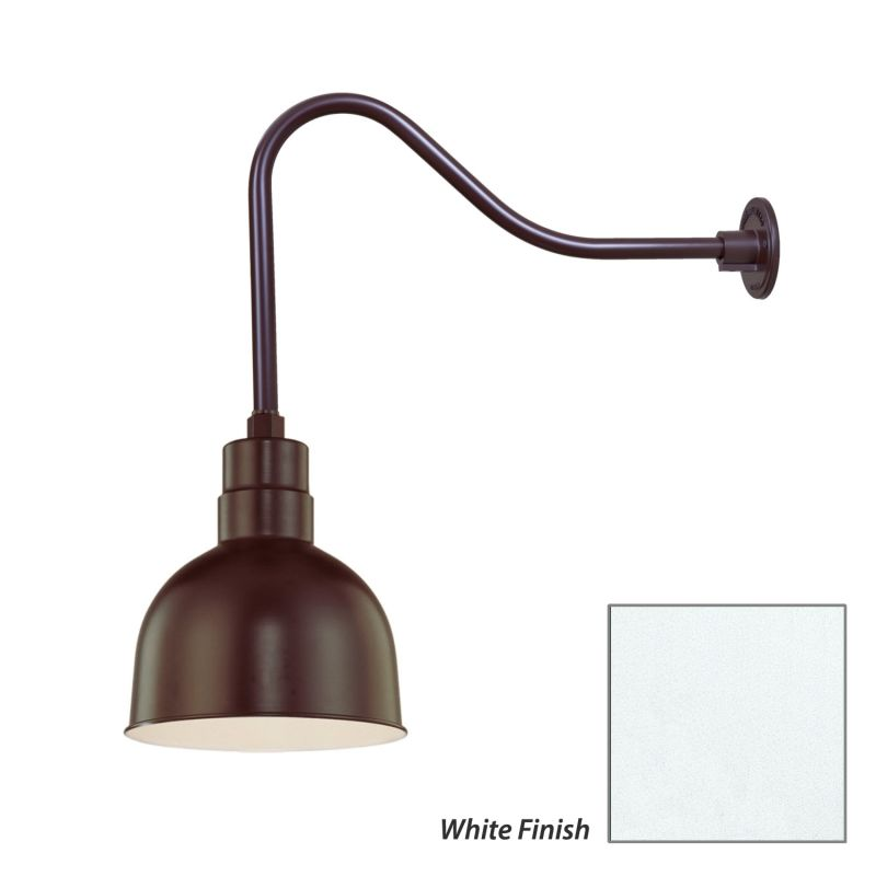 Millennium Lighting RDBS10-RGN23 R Series 1 Light Outdoor Wall Sconce