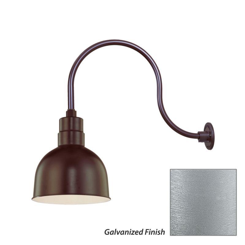 Millennium Lighting RDBS10-RGN24 R Series 1 Light Outdoor Wall Sconce