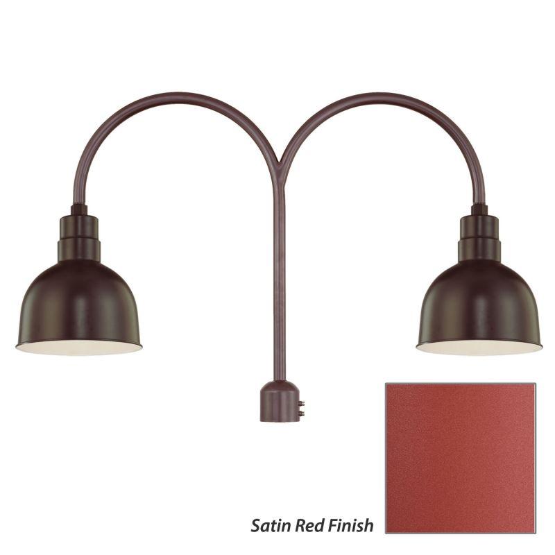 Millennium Lighting RDBS10-RPAD R Series 2 Light Post Light with Dark