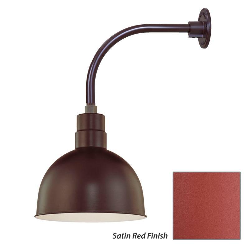 Millennium Lighting RDBS12-RGN12 R Series 1 Light Outdoor Wall Sconce Sale $105.80 ITEM: bci2282130 ID#:RDBS12-RGN12 Satin Red UPC: 842639010186 :