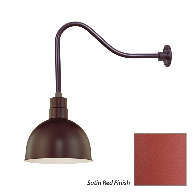 Millennium Lighting RDBS12-RGN23 R Series 1 Light Outdoor Wall Sconce Sale $121.80 ITEM: bci2282148 ID#:RDBS12-RGN23 Satin Red UPC: 842639010186 :