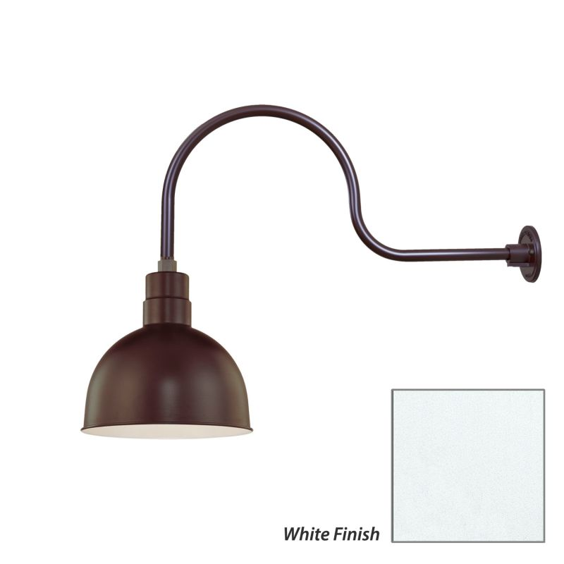 Millennium Lighting RDBS12-RGN30 R Series 1 Light Outdoor Wall Sconce Sale $129.80 ITEM: bci2282161 ID#:RDBS12-RGN30 White UPC: 842639009012 :