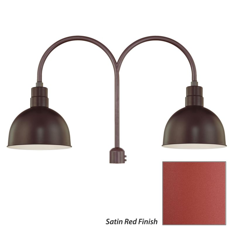 Millennium Lighting RDBS12-RPAD R Series 2 Light Post Light with Dark