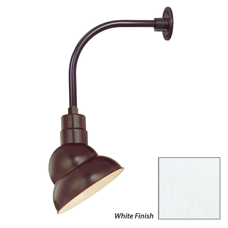 Millennium Lighting RES10-RGN12 R Series 1 Light Outdoor Wall Sconce