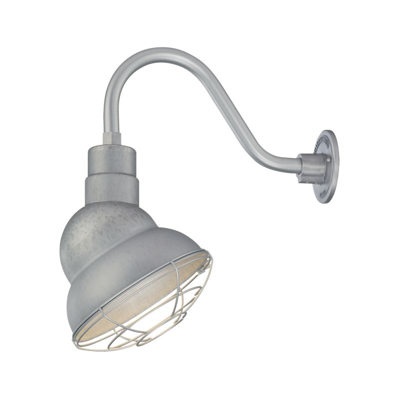 Millennium Lighting RES10-RGN15 R Series 1 Light Outdoor Wall Sconce