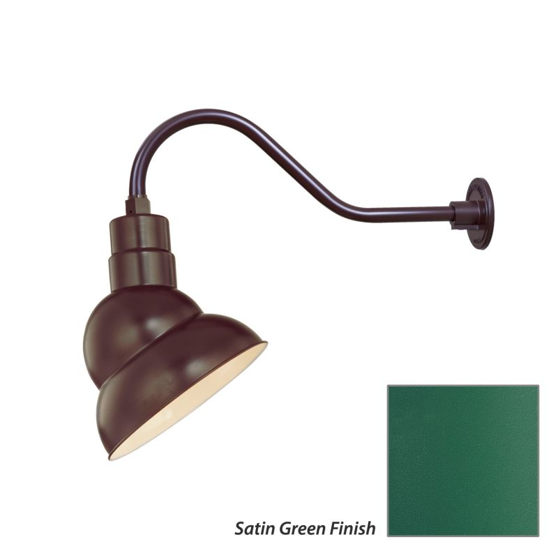 Millennium Lighting RES10-RGN22 R Series 1 Light Outdoor Wall Sconce
