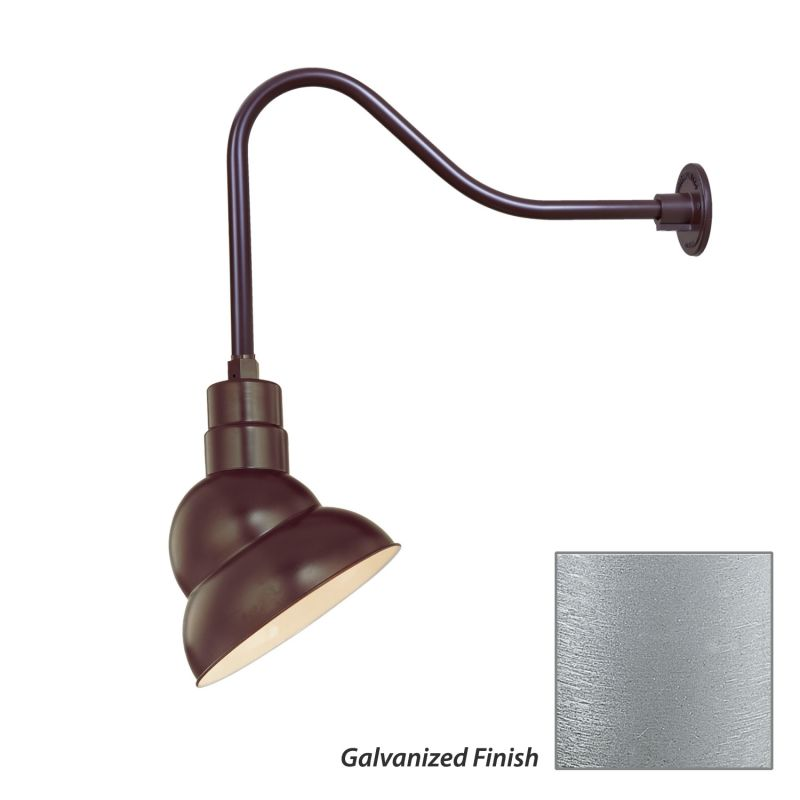 Millennium Lighting RES10-RGN23 R Series 1 Light Outdoor Wall Sconce