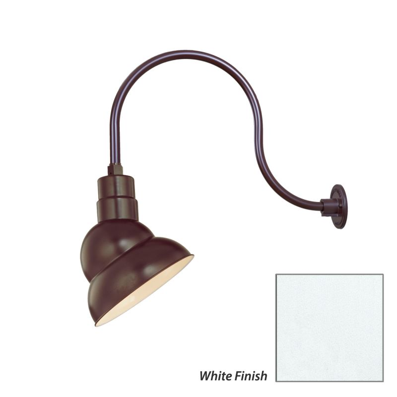 Millennium Lighting RES10-RGN24 R Series 1 Light Outdoor Wall Sconce