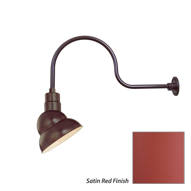 Millennium Lighting RES10-RGN30 R Series 1 Light Outdoor Wall Sconce Sale $123.80 ITEM: bci2282208 ID#:RES10-RGN30 Satin Red UPC: 842639010193 :
