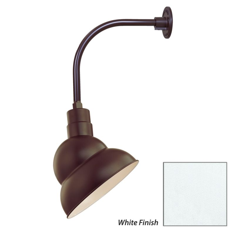 Millennium Lighting RES12-RGN12 R Series 1 Light Outdoor Wall Sconce