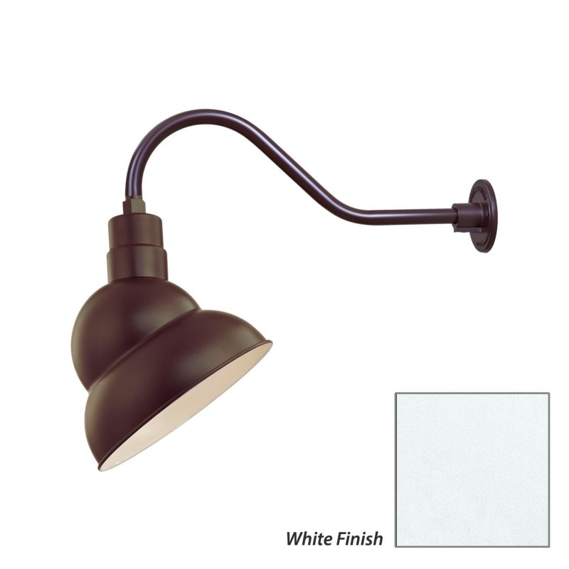 Millennium Lighting RES12-RGN22 R Series 1 Light Outdoor Wall Sconce