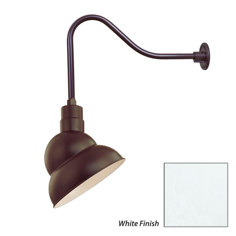 Millennium Lighting RES12-RGN23 R Series 1 Light Outdoor Wall Sconce