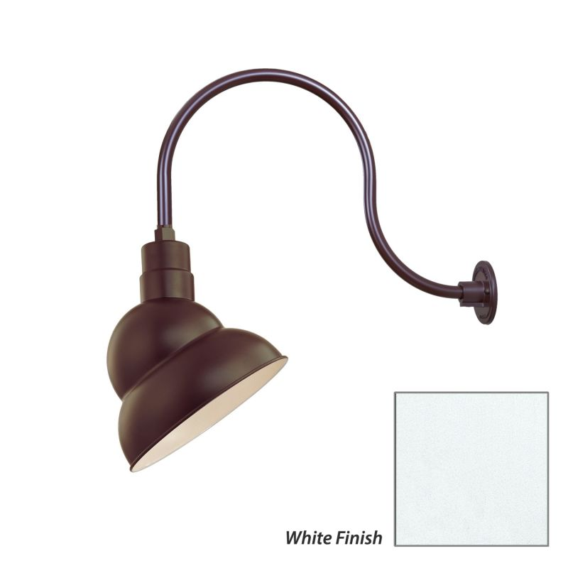 Millennium Lighting RES12-RGN24 R Series 1 Light Outdoor Wall Sconce