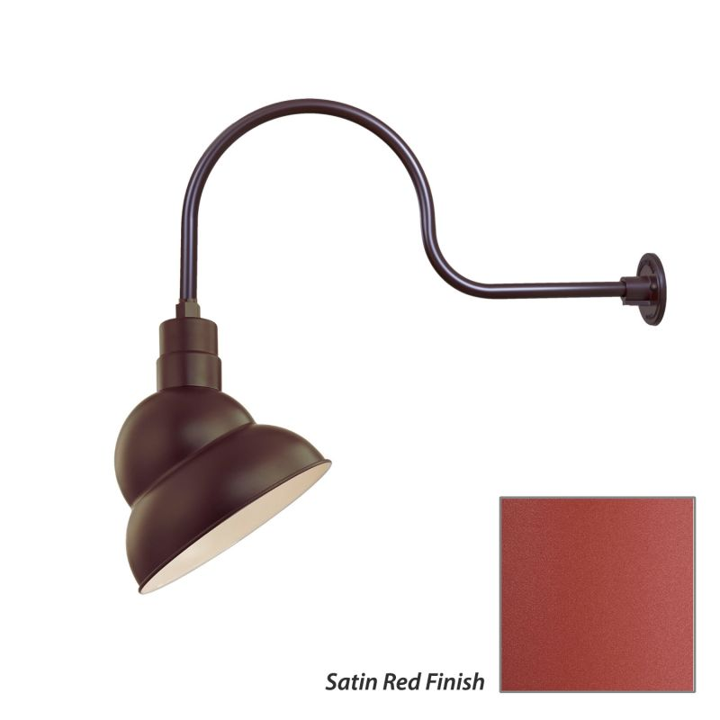 Millennium Lighting RES12-RGN30 R Series 1 Light Outdoor Wall Sconce