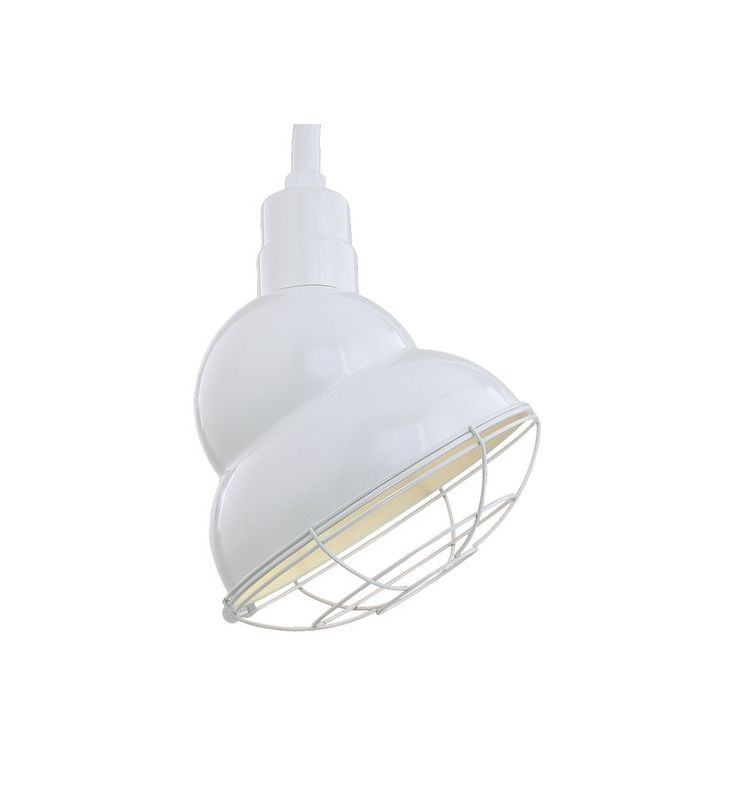"""Millennium Lighting RES12 R Series 12"""" Wide Outdoor Shade White"""