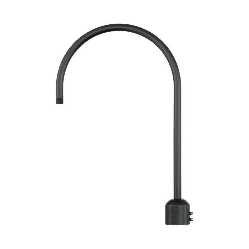 Millennium Lighting RPAS R Series One Light Post Adapter Satin Black