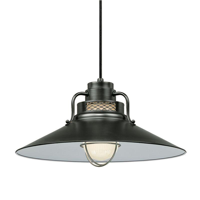 "Millennium Lighting RRRC18 R Series 1 Light 18"" Wide Cord Hung Pendant"