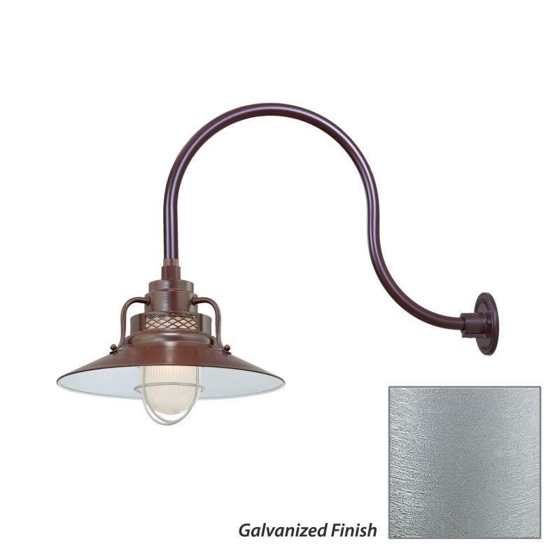 Millennium Lighting Galvanized R Series 1 Light Outdoor