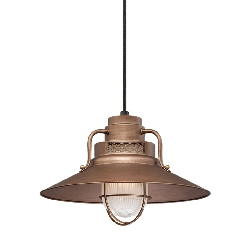 Millennium Lighting RRRS14-RSCK-RS3 R Series 1 Light Outdoor Pendant Sale $177.78 ITEM: bci2256751 ID#:RRRS14-RSCK-RS3 Copper UPC: 842639010735 :