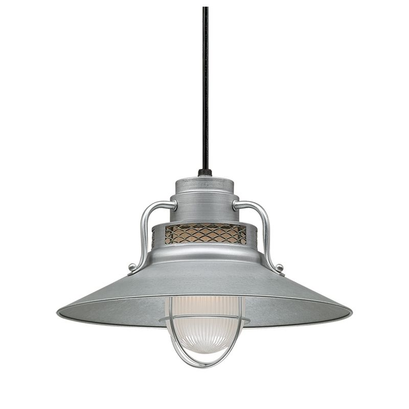 Millennium Lighting RRRS14-RSCK-RS3 R Series 1 Light Outdoor Pendant
