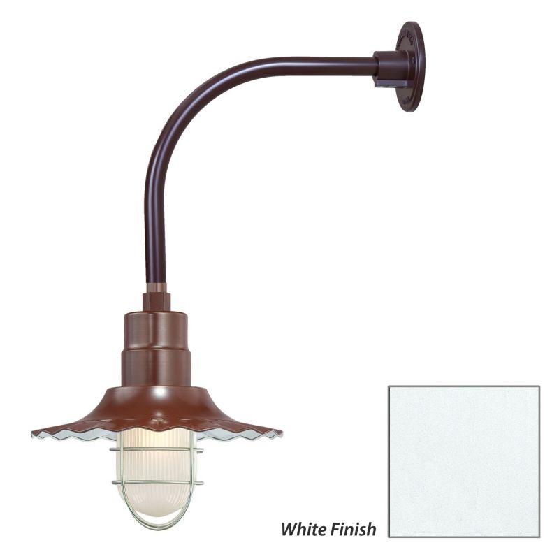 Millennium Lighting RRWS12-RGN12 R Series 1 Light Outdoor Wall Sconce