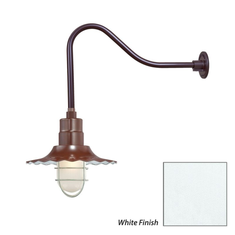 Millennium Lighting RRWS12-RGN23 R Series 1 Light Outdoor Wall Sconce