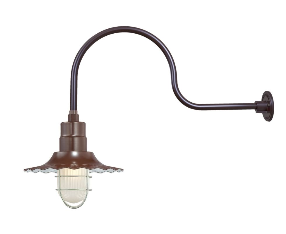 Millennium Lighting RRWS12-RGN30 R Series 1 Light Outdoor Wall Sconce Sale $149.80 ITEM: bci2282359 ID#:RRWS12-RGN30 Architectural Bronze UPC: 842639010995 :