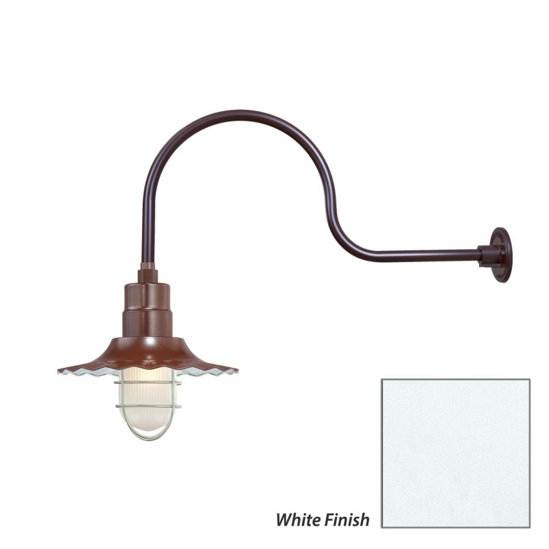 Millennium Lighting RRWS12-RGN30 R Series 1 Light Outdoor Wall Sconce