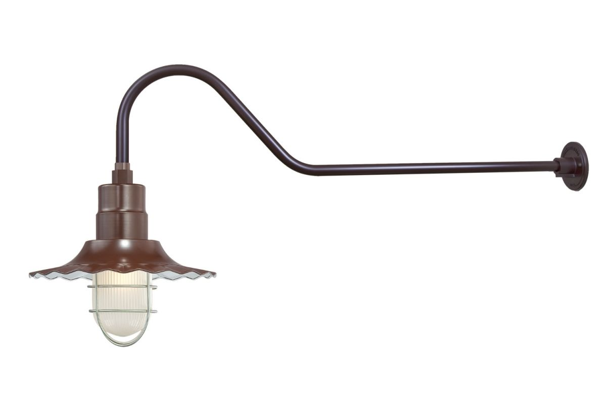Millennium Lighting RRWS12-RGN41 R Series 1 Light Outdoor Wall Sconce Sale $151.80 ITEM: bci2282366 ID#:RRWS12-RGN41 Architectural Bronze UPC: 842639010995 :