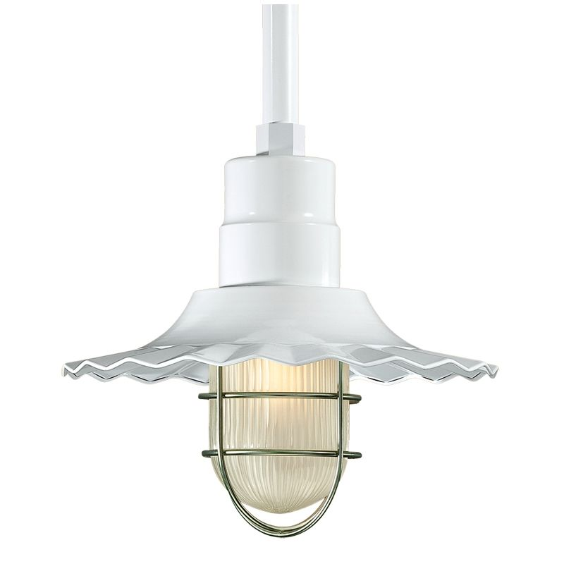 Millennium Lighting RRWS12-RSCK-RS1 R Series 1 Light Outdoor Pendant Sale $119.78 ITEM: bci2256774 ID#:RRWS12-RSCK-RS1 White UPC: 842639008060 :