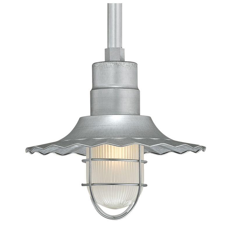 Millennium Lighting RRWS12-RSCK-RS2 R Series 1 Light Outdoor Pendant Sale $123.78 ITEM: bci2256777 ID#:RRWS12-RSCK-RS2 Galvanized UPC: 842639008091 :