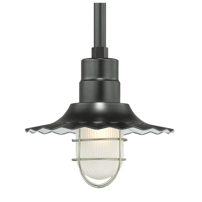 Millennium Lighting RRWS12-RSCK-RS2 R Series 1 Light Outdoor Pendant Sale $123.78 ITEM: bci2256778 ID#:RRWS12-RSCK-RS2 Satin Black UPC: 842639008077 :